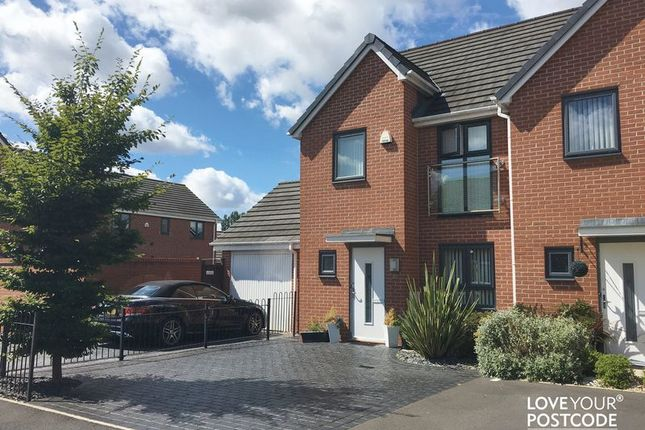 Thumbnail Semi-detached house to rent in Kynance Grove, Bilston