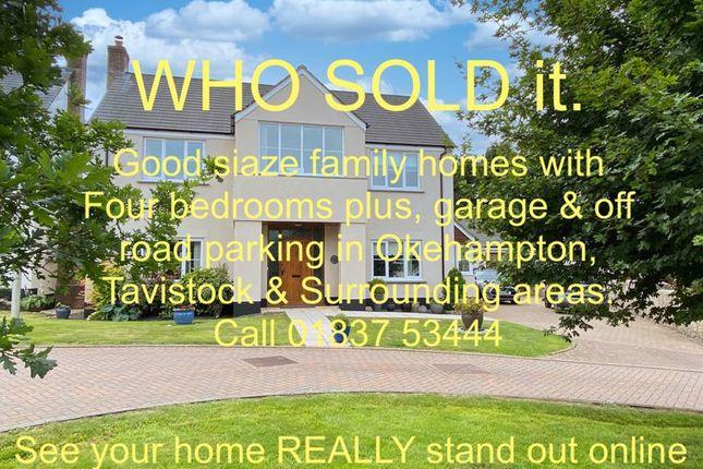 Thumbnail Detached house for sale in Glebe Close, Hatherleigh, Okehampton