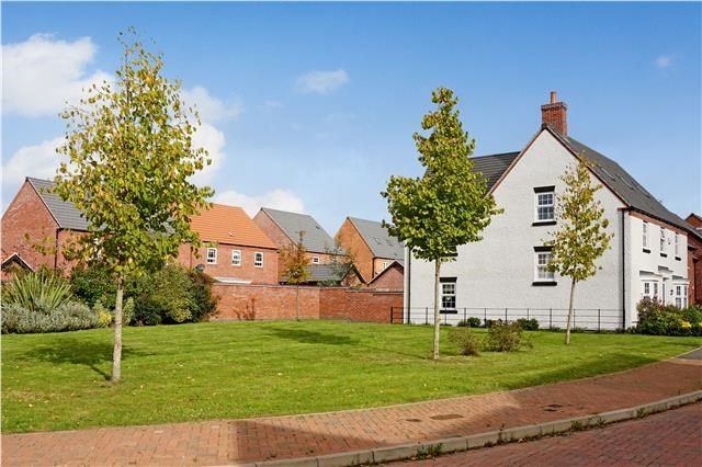Thumbnail Detached house for sale in Pickwell Drive, Syston