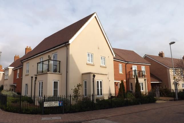 Thumbnail Flat for sale in Saturn Way, Biggleswade, Bedfordshire, .