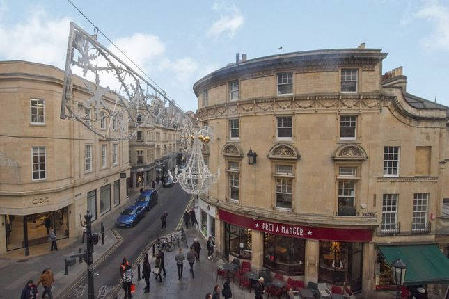 Thumbnail Flat to rent in Bath Street, Bath