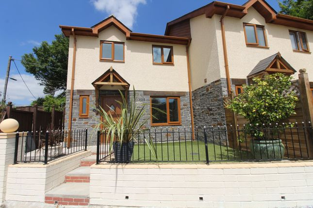 Thumbnail Semi-detached house for sale in Bethal Place, Nantyglo