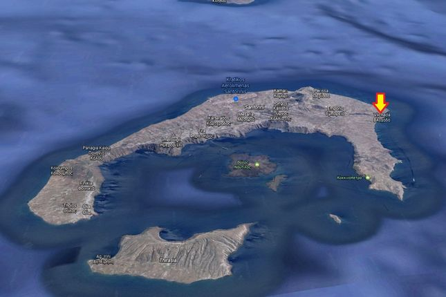 Land for sale in 25000 Sq.m. Plot Vlichada, Santorini, Cyclade Islands, South Aegean, Greece