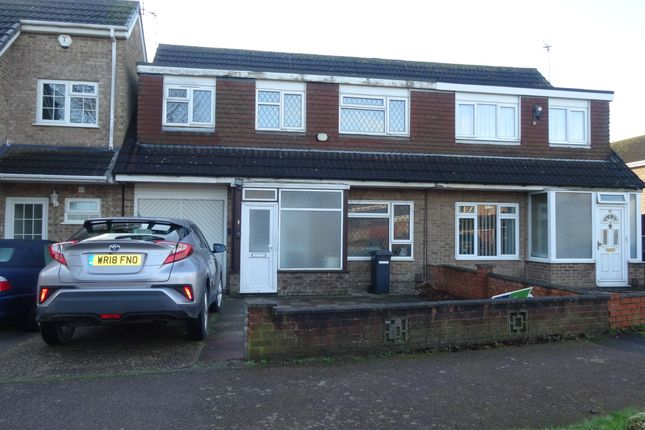 Thumbnail Terraced house to rent in Trivino Drive, Leicester