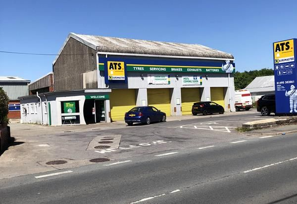 Thumbnail Light industrial for sale in Former Ats Unit, Beaufort Hill, Beaufort, Ebbw Vale