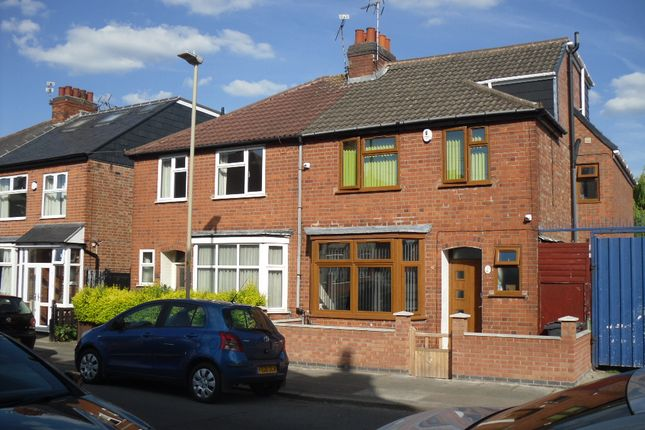 Thumbnail Semi-detached house for sale in Rowsley Street, Evington, Leicester