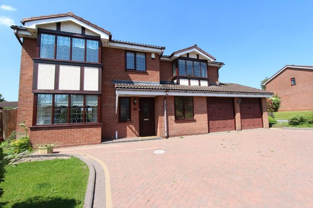 Thumbnail Detached house for sale in Dunster, Tamworth