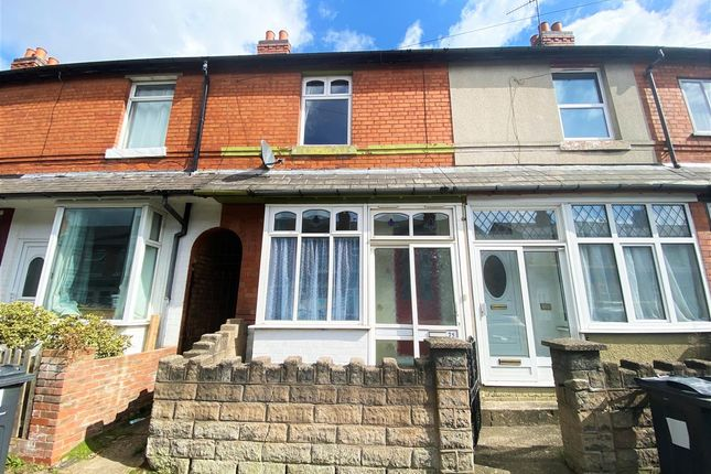 2 bed terraced house for sale in Wroxton Road, Yardely, Birmingham B26