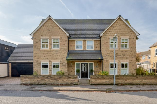 Thumbnail Detached house for sale in The Green, Stotfold, Hitchin, Herts