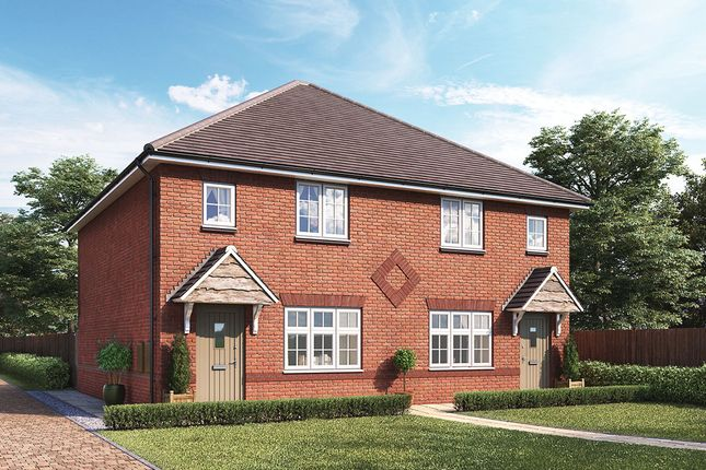 """Thumbnail End terrace house for sale in """"Dart"""" at Boundary Drive, Amington, Tamworth"""