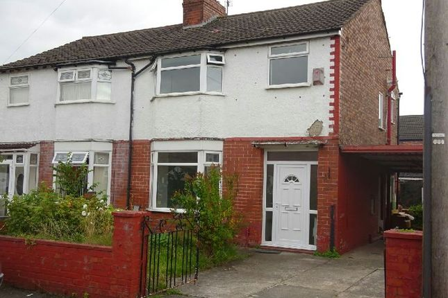 Thumbnail Semi-detached house for sale in Rotherwood Avenue, Stretford, Manchester