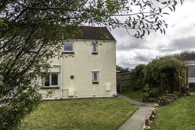 Semi-detached house for sale in Furzy Park, Haverfordwest