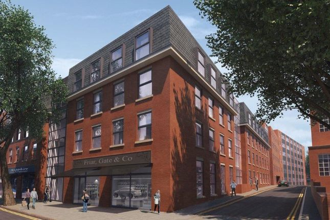 Thumbnail Flat for sale in Friar Gate, Derby