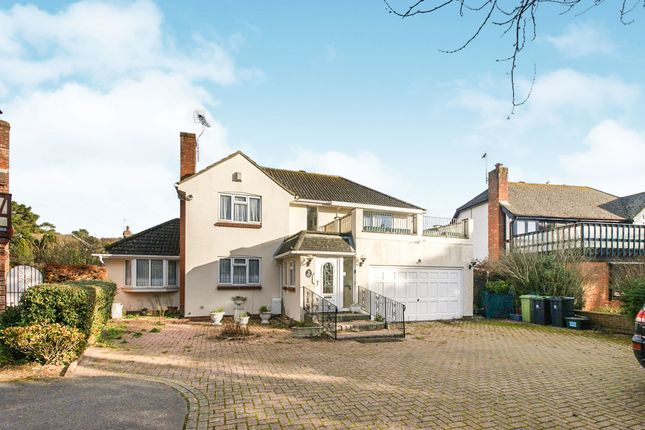 Thumbnail Detached house for sale in Seaway Avenue, Friars Cliff, Mudeford, Christchurch