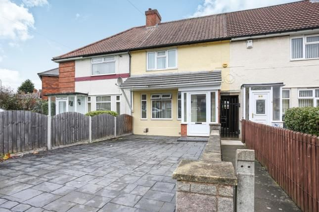 Thumbnail Terraced house for sale in Northleigh Road, Birmingham, Ward End, England