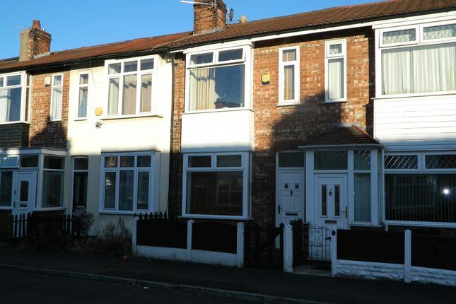 Thumbnail Terraced house to rent in Richmond Avenue, Urmston