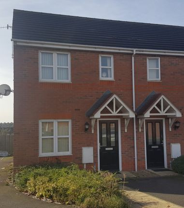 Thumbnail Town house for sale in Bourne Drive, Langley Mill, Nottingham