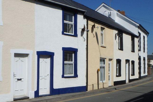 Thumbnail Terraced house to rent in Maengwyn Street, Tywyn