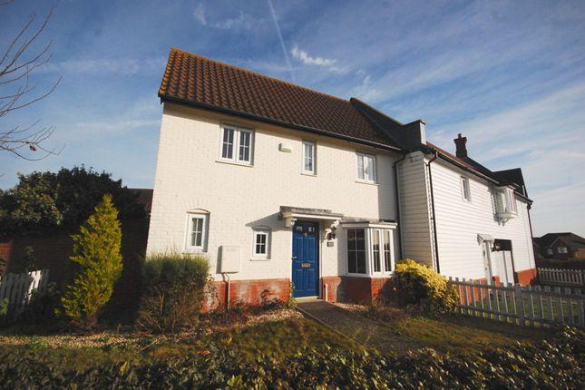 Thumbnail Semi-detached house for sale in Chelmer Village Way, Chelmer Village/ Chancellor Park, Chelmsford