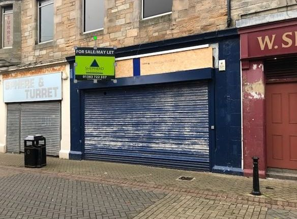 Retail premises for sale in High Street, Leven