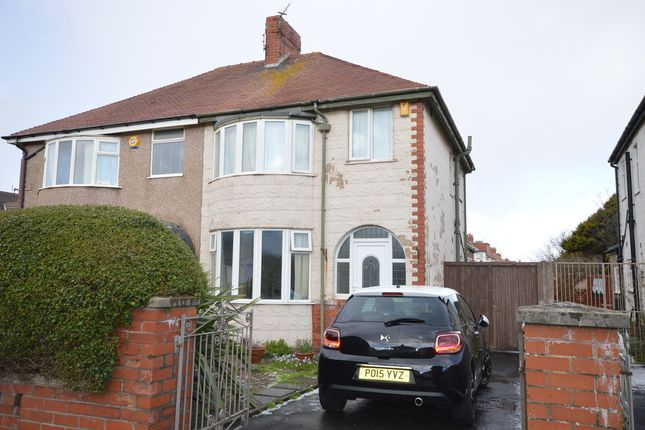 Thumbnail Semi-detached house to rent in Albany Avenue, Blackpool