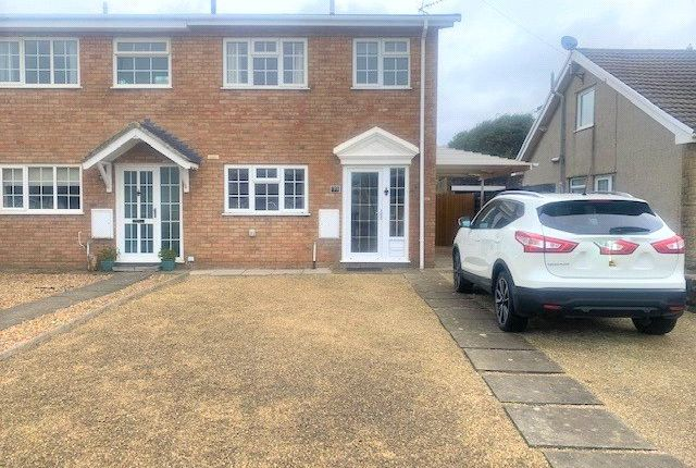 2 bed semi-detached house to rent in Fulmar Road, Nottage, Porthcawl CF36