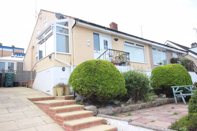 Thumbnail Semi-detached bungalow for sale in Maes Y Llan, Conwy