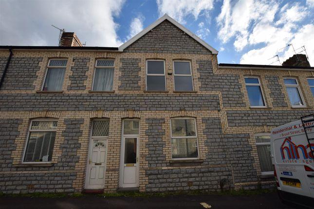Thumbnail Terraced house for sale in Merthyr Street, Barry