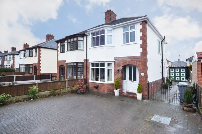Thumbnail Semi-detached house for sale in Blurton Road, Blurton