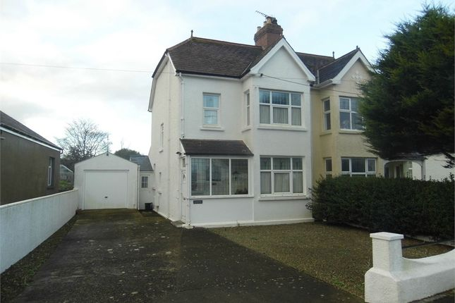 Thumbnail Semi-detached house for sale in Cresselly, Sladeway, Fishguard, Pembrokeshire