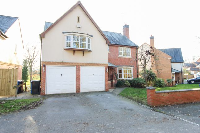 Thumbnail Detached house for sale in Woodmere Drive, Old Whittington, Chesterfield