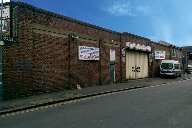 Thumbnail Industrial to let in Milk Street, Digbeth, Birmingham