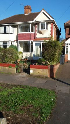 Thumbnail Semi-detached house to rent in Kingstanding Road, Kingstanding