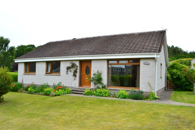 Thumbnail Detached bungalow for sale in Nelson Road, Forres