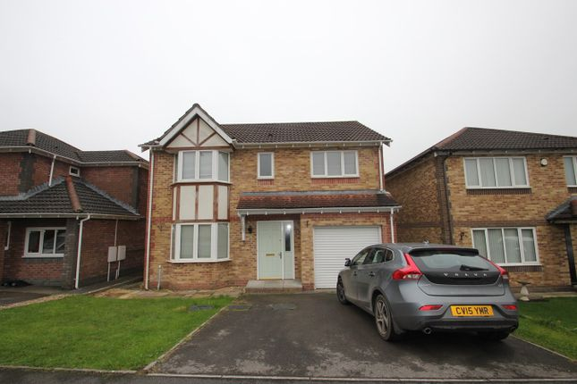 Thumbnail Detached house to rent in Heol Isaf, Llantwit Fardre, Pontypridd