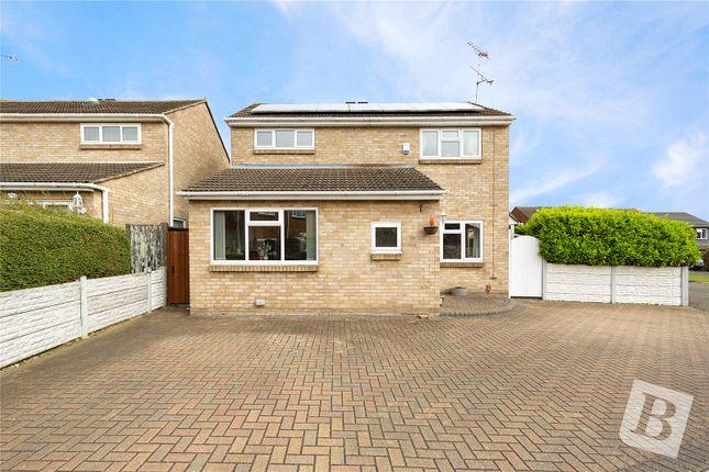 Thumbnail Detached house for sale in Sussex Close, Laindon, Essex