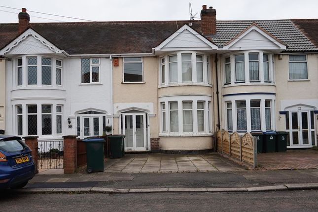 Thumbnail Terraced house to rent in Southbank Road, Coventry