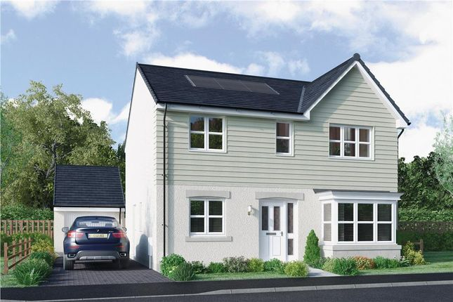 "Thumbnail Detached house for sale in ""Grant"" at East Calder, Livingston"