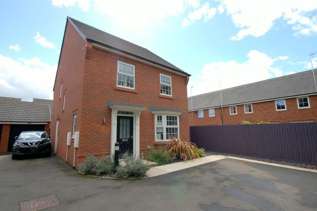 Thumbnail Detached house for sale in Waterlily Grove, Stapeley, Nantwich