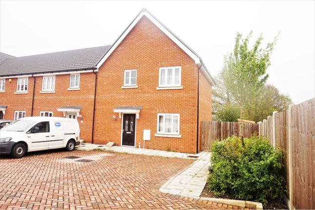 Thumbnail End terrace house for sale in Roedean Crescent, Basildon