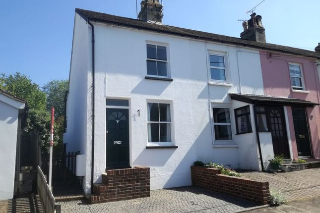 Thumbnail End terrace house to rent in Vicarage Road, Alton