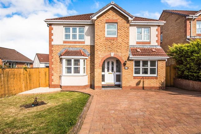 Thumbnail Detached house for sale in Dalbeattie Braes, Chapelhall, Airdrie