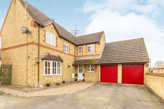Thumbnail Detached house for sale in Templeman Drive, Carlby, Stamford