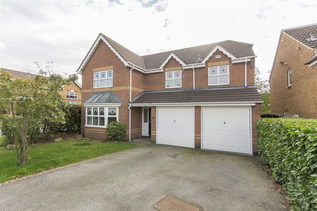 Thumbnail Detached house for sale in The Rusk, Barlborough, Chesterfield