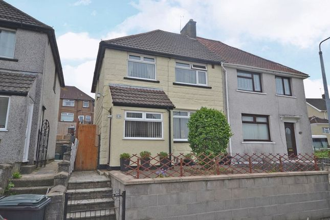 Thumbnail Semi-detached house for sale in Attractively Improved House, Westfield Avenue, Newport. No Further Chain.