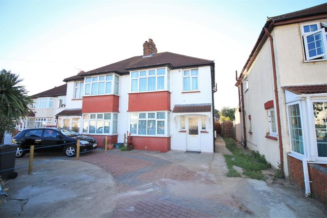Thumbnail Semi-detached house to rent in Mornington Crescent, Hounslow