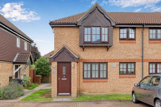 Thumbnail Maisonette for sale in Rosemont Close, Letchworth