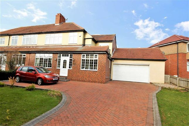 Thumbnail Semi-detached house for sale in Summerhill, East Herrington, Sunderland
