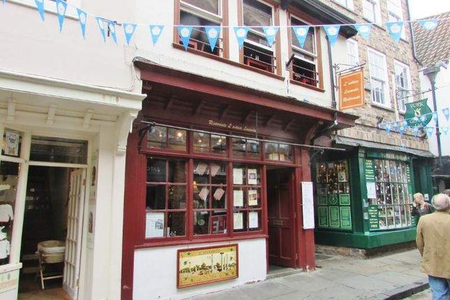 Thumbnail Restaurant/cafe for sale in 33 Shambles, York