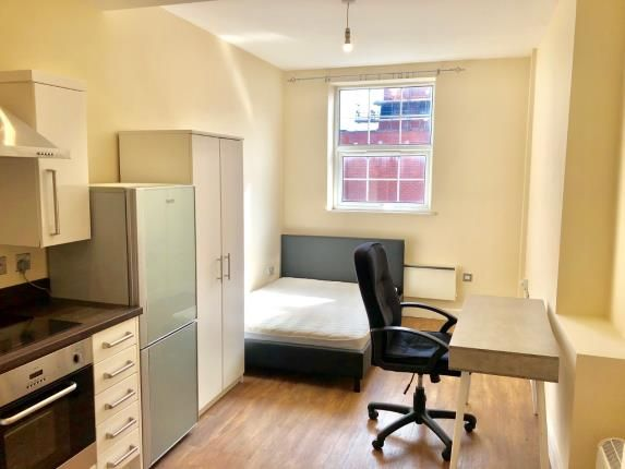 Living Room of Rutland Street, Leicester, Leicestershire, England LE1